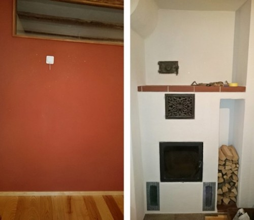 Lehmputz rot Wand-1-horz